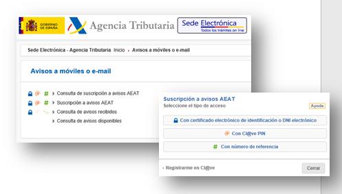 12 3 1 avisos de informaci n agencia tributaria for Oficina virtual de la agencia tributaria