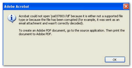 Error when generating the PDF of a full consultation - Tax Agency
