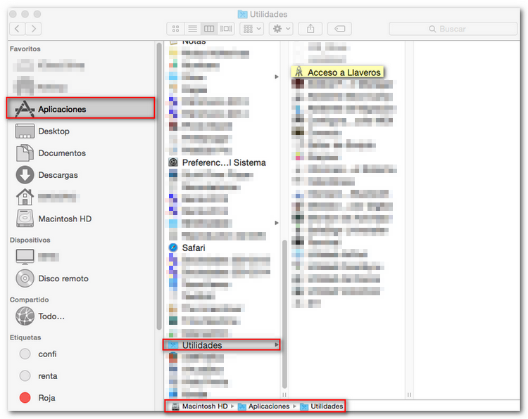 Copy of electronic certificate on Safari (Mac) - Tax Agency