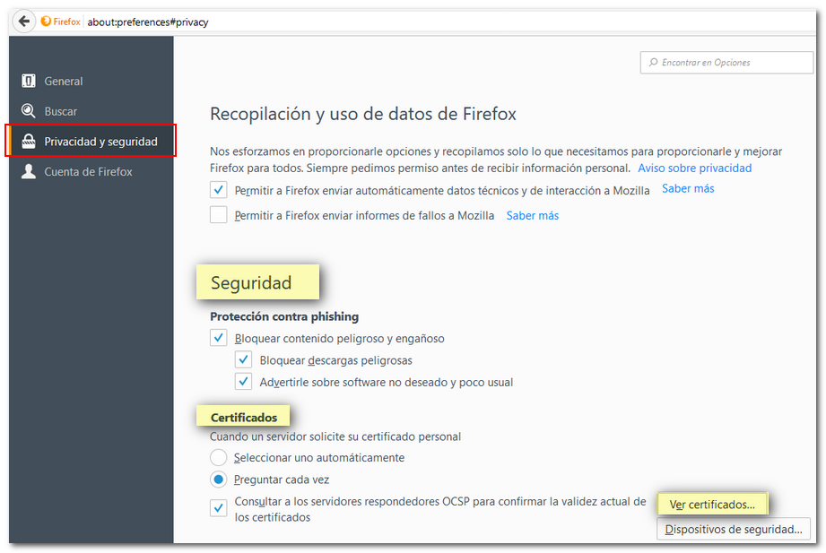 How To Delete An Electronic Certificate In Mozilla Firefox Linux