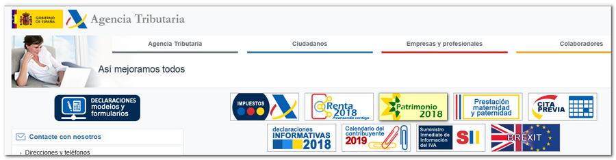 Aeat Calendario Del Contribuyente 2019.Como Presentar La Declaracion Del Impuesto De Patrimonio